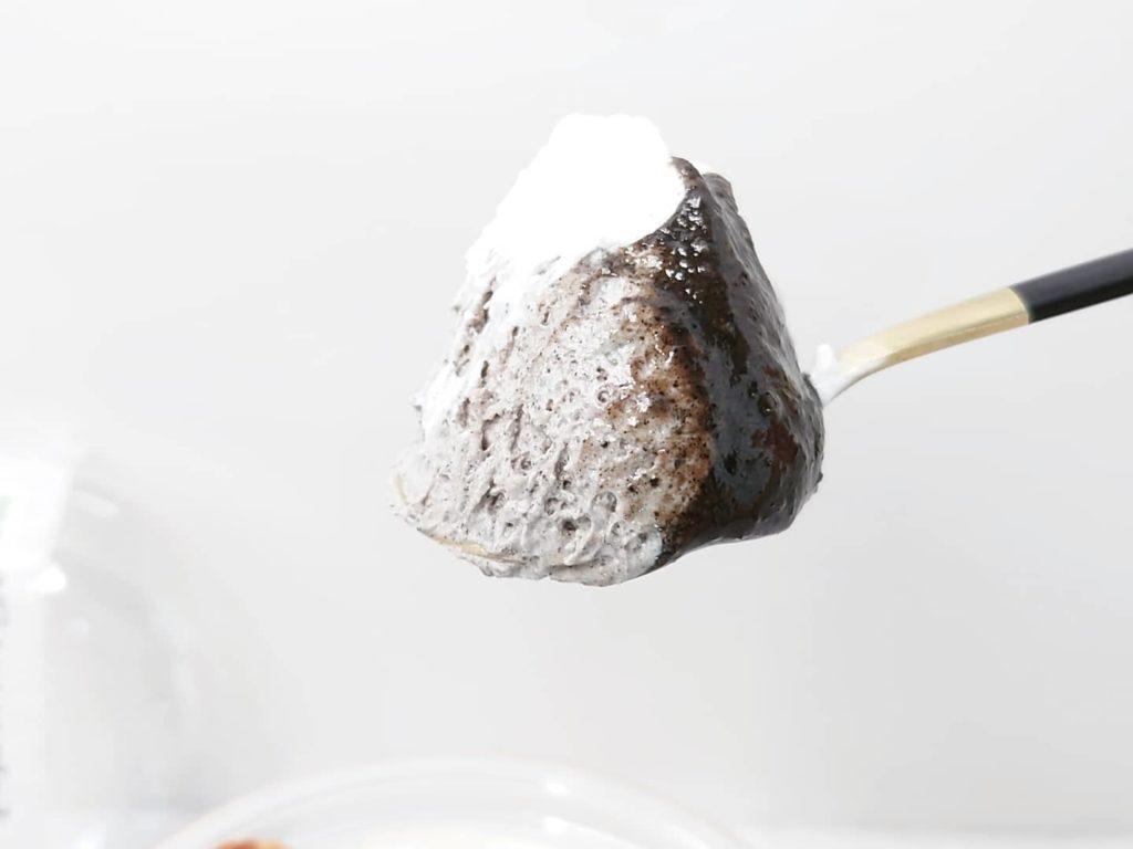 セブンイレブン 黒ごまと豆乳ブラマンジェ